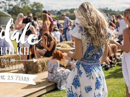 Lovedale Long Lunch, Hunter Valley – 19th & 20th May 2018