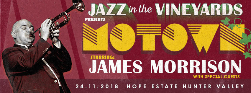 Jazz in the Vineyards, Hope Estate – 24th Nov 2018