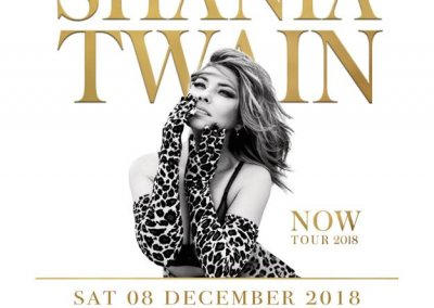 Shania Twain, Hope Estate Hunter Valley – 8th Dec 2018