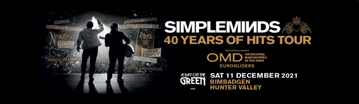 Simple Minds, Bimbadgen – 11th Dec 2021