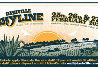 Dashville Skyline, Dashville – 25th to 27th Feb 2022