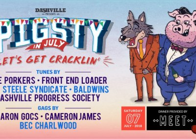 PigSty in July, Dashville – 7th Jul 2018