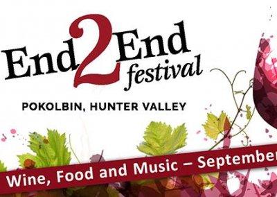 End2End Festival, Pokolbin – 15th Sep 2018
