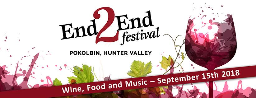 End2End Festival, Pokolbin – 15th Sep 2018