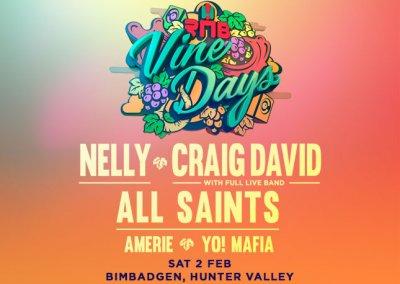 RNB Vine Days, Bimbadgen – 2nd Feb 2019